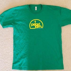 Pearl Jam Seattle space needle tshirt